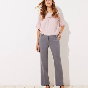 Women's LOFT Tall Trousers in Button Tab in Marisa